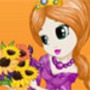 Sunflower Princess Hairstyles
